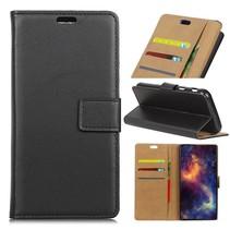 Samsung Galaxy S9 Flip Cover Hoesje - Zwart