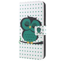 Booktype Hoesje Samsung Galaxy S9 - Slapende Uil