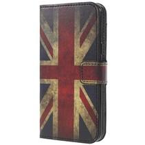 Booktype Hoesje Samsung Galaxy S9 - Britse vlag