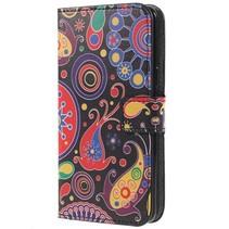 Booktype Hoesje Samsung Galaxy S9 - Abstracte figuurtjes