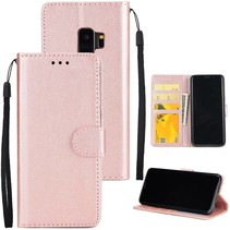 Booktype Hoesje Samsung Galaxy S9 - Rose Goud