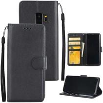 Booktype Hoesje Samsung Galaxy S9 - Zwart