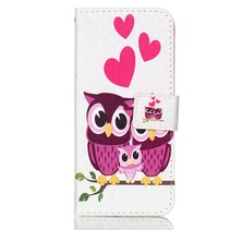 Booktype Hoesje Samsung Galaxy S9 - Uil Familie