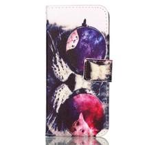 Booktype Hoesje Samsung Galaxy S9 - Kat met Zonnebril