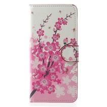 Bookstyle Hoesje Samsung Galaxy S9 - Roze Bloesem