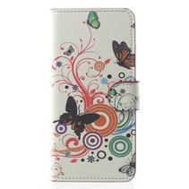 Bookstyle Hoesje Samsung Galaxy S9 - Vlinders