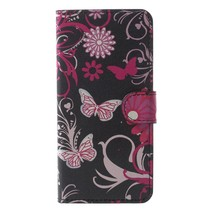 Bookstyle Hoesje Samsung Galaxy S9 - Roze Vlinders