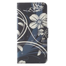 Bookstyle Hoesje Samsung Galaxy S9 - Bloem Design