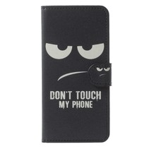 Bookstyle Hoesje Samsung Galaxy S9 - Don't Touch My Phone
