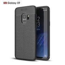 Litchee TPU Hoesje Samsung Galaxy S9 - Zwart