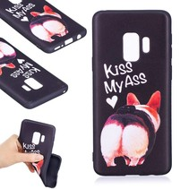TPU Quote Hoesje Samsung Galaxy S9 - Kiss My Ass