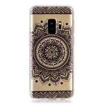 Transparant TPU Hoesje Samsung Galaxy S9 - Mandala Bloemen