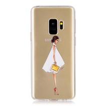 Transparant TPU Hoesje Samsung Galaxy S9 - Meisje met Hakken