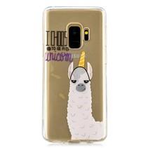 Transparant TPU Hoesje Samsung Galaxy S9 - I Choose to be a Unicorn