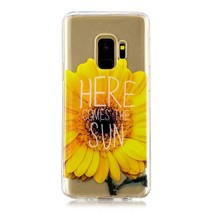Transparant TPU Hoesje Samsung Galaxy S9 - Here Comes the Sun