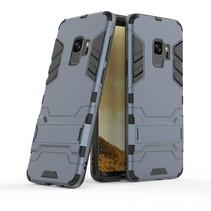 Guard Hybrid Hoesje met Kickstand Samsung Galaxy S9 - Blauw