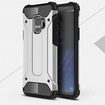 Armor Guard Hybrid Hoesje Samsung Galaxy S9 - Zilver
