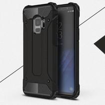 Armor Guard Hybrid Hoesje Samsung Galaxy S9 - Zwart