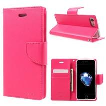 GOOSPERY Diary Booktype Hoesje iPhone 7 / 8 - Roze