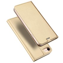 Pro Series Bookcase Hoesje iPhone 7 / 8 - Goud Rosé Goud