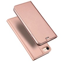 Pro Series Bookcase Hoesje iPhone 7 / 8 - Rosé Goud