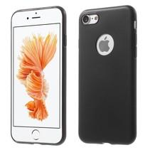 Slim Effen TPU Hoesje iPhone 7 / 8 - Zwart