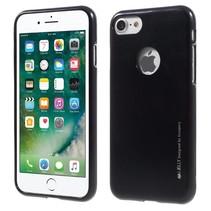 GOOSPERY i JELLY TPU Hoesje iPhone 7 / 8 - Zwart