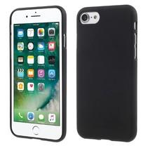 GOOSPERY Mat TPU Hoesje iPhone 7 / 8 - Zwart