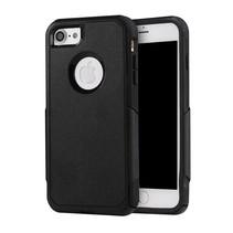 Shockproof Hybrid Hardcase + TPU Hoesje iPhone 7 / 8 - Zwart