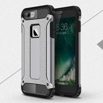 Armor Guard Hardcase + TPU Hybrid Hoesje iPhone 7 / 8 - Grijs