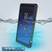 10m 24u IP68 Waterdicht Hoesje Samsung Galaxy Note 8 Hoesje - Zwart