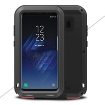Waterdicht Shockproof Hoesje Samsung Galaxy S8 Plus - Zwart