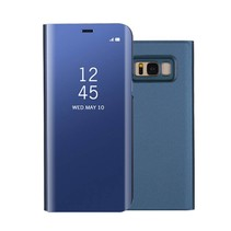 Spiegel Booktype Hoesje Samsung Galaxy S8 Plus - Blauw