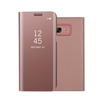 Spiegel Booktype Hoesje Samsung Galaxy A3 (2017) - Rosé Goud