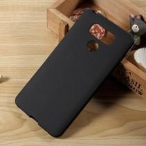 Mat TPU Hoesje LG G6 - Zwart