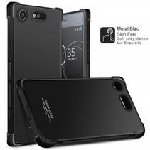 TPU Hoesje Sony Xperia XZ1 Compact + Glas Screenprotector