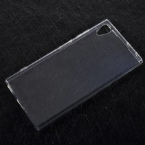 TPU Hoesje Sony Xperia XA1 Plus - Transparant
