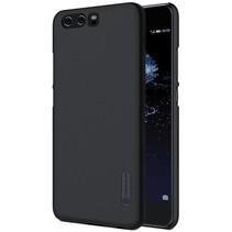 Mat Hardcase Hoesje Huawei P10 - Zwart