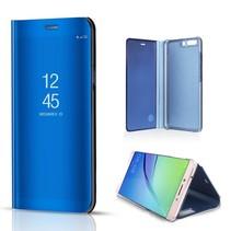 Glanzend Window Venster Hoesje Huawei P10 - Blauw