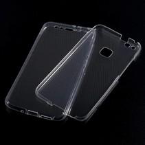 Transparant TPU Hoesje (Voor + Achterkant) Huawei P10 Lite