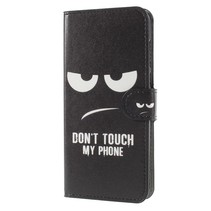 Don't Touch My Phone Booktype Hoesje Huawei Mate 10 Lite