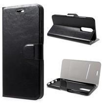 Glad Booktype Hoesje Huawei Mate 10 Lite - Zwart