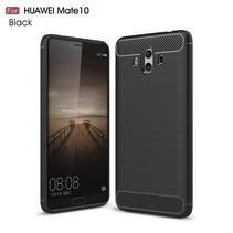 Armor Brushed TPU Hoesje Huawei Mate 10 - Zwart