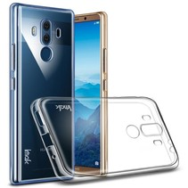 Transparant 0.7mm TPU Hoesje + Screen Protector Huawei Mate 10 Pro