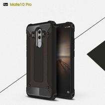 Armor Hardcase + TPU Hybrid Hoesje Huawei Mate 10 Pro - Zwart