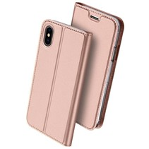 Skin Pro Series Booktype Hoes iPhone X - Rosé Goud