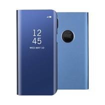 Spiegel Venster Booktype Hoesje iPhone X - Blauw