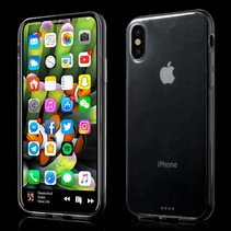 Ultraslim TPU Hoesje iPhone X - Transparant
