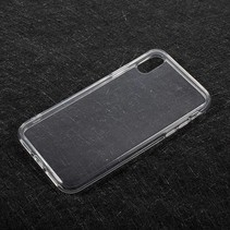 Flexibel TPU Hoesje iPhone X - Transparant