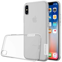 0.6mm TPU Hoesje iPhone X - Wit